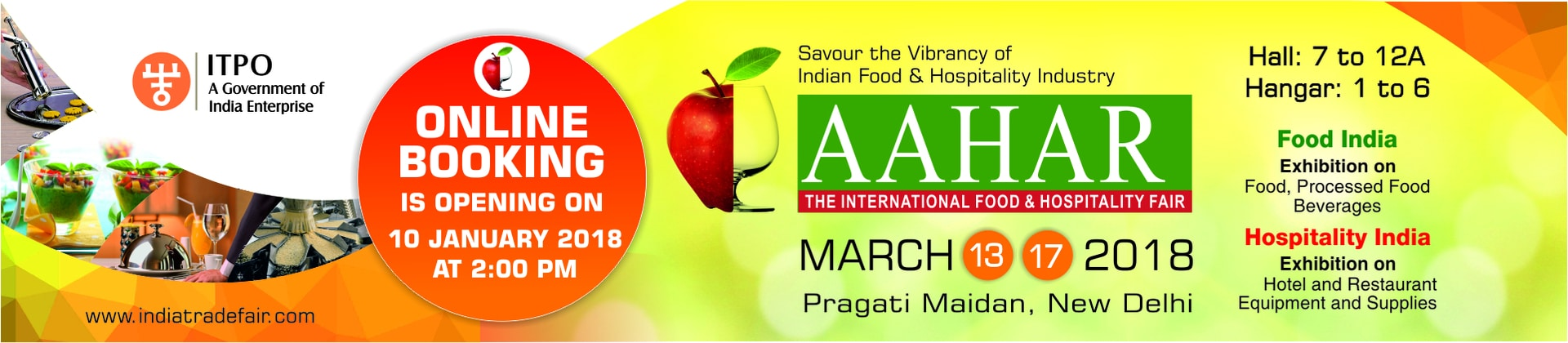 AAHAR - International Food & Hospitality Fair 2018
