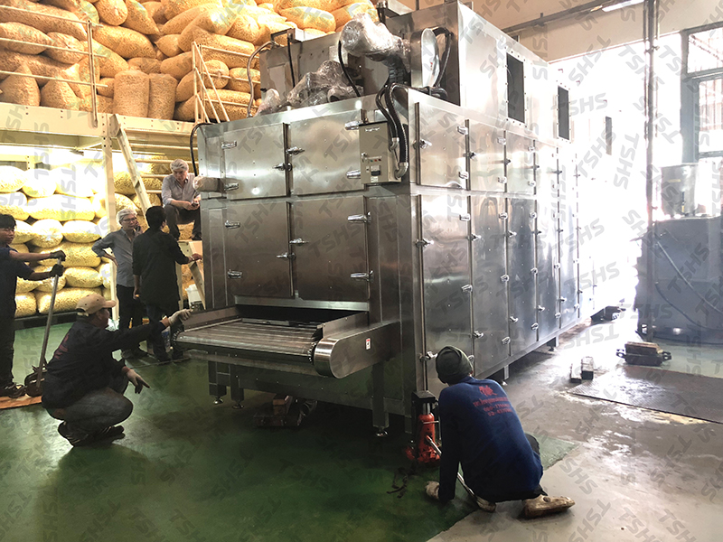 THAILAND- UPGRADE AUTOMATION OF EQUIPMENT - GRAIN PUFF PRODUCTION LINE- ROTARY SEASONING DRUM