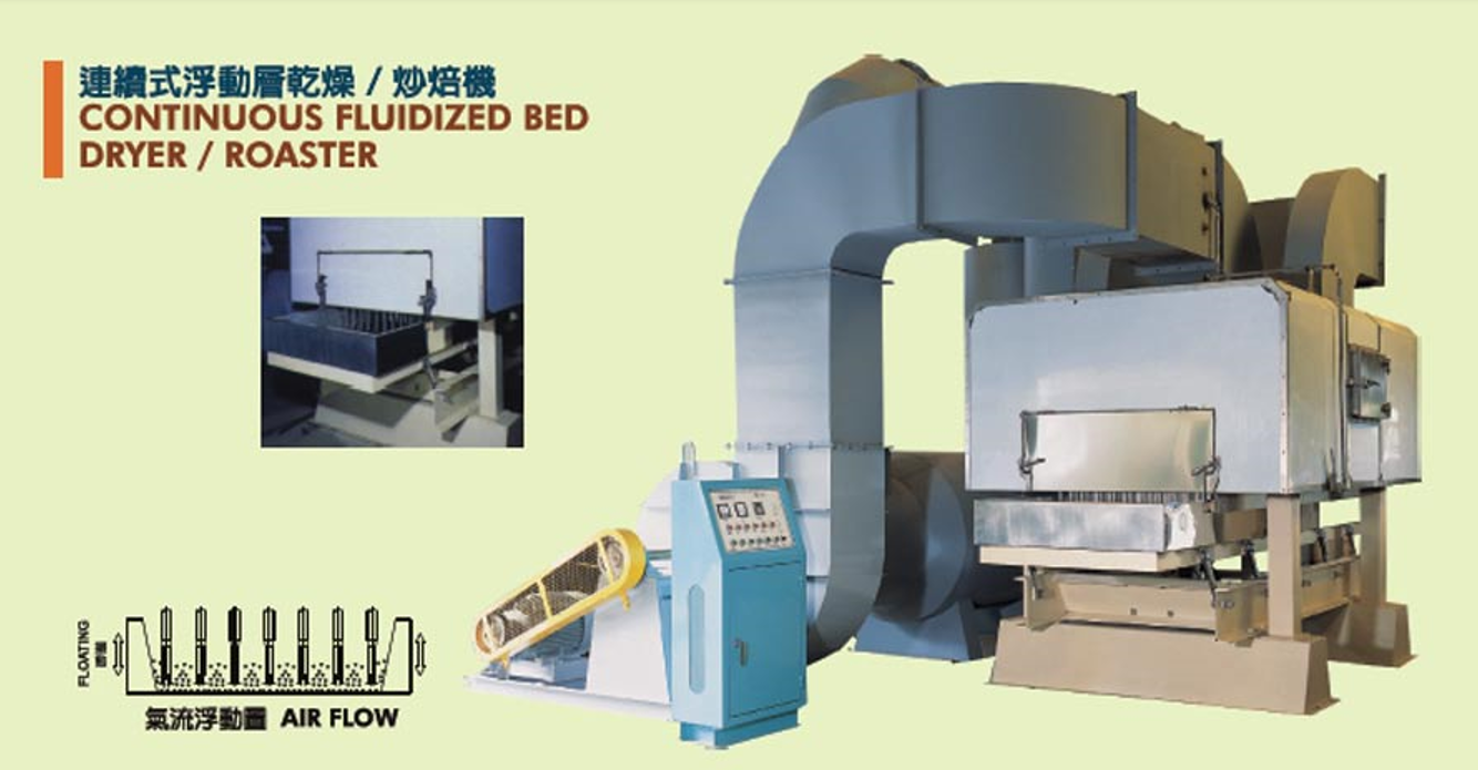 continuous_fluidized_bed_dryer