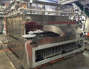 green_pea_production_line_Roaster